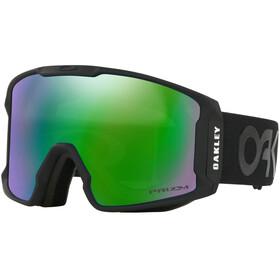 Oakley Line Miner Snow Goggles Herre Factory Pilot Matte Black W/ Prizm Jade Iridium
